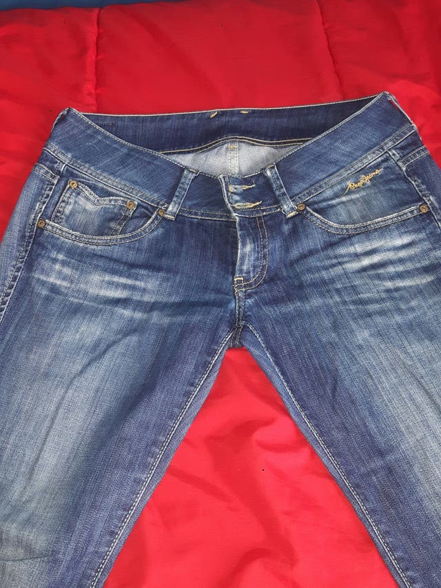 Pantalon Pepe Jeans Mujer De Segunda Mano Por 30 En Madrid En Wallapop