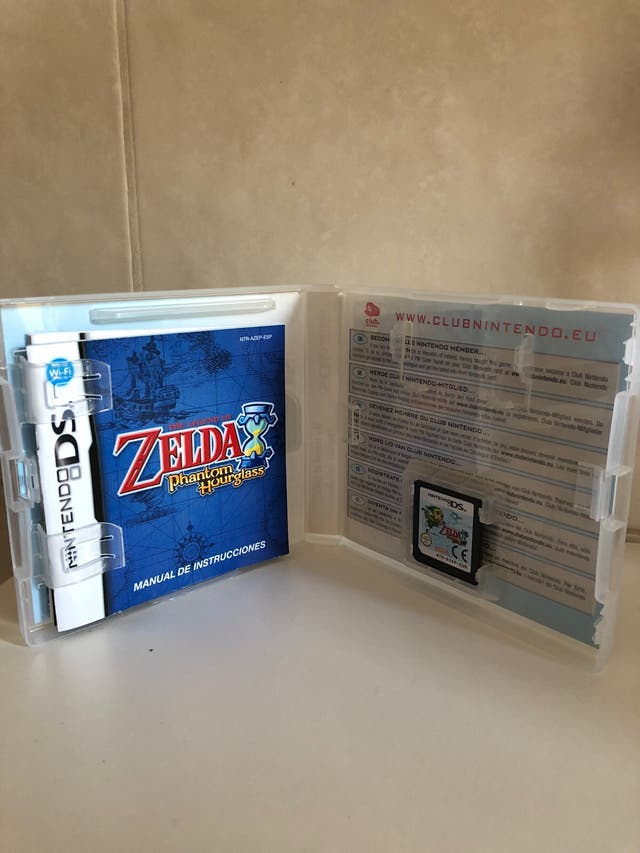 Juego Zelda Phantom Hourglass Nintendo Ds Second Hand For 35 In