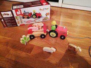 Tractor Animales Eurekakids