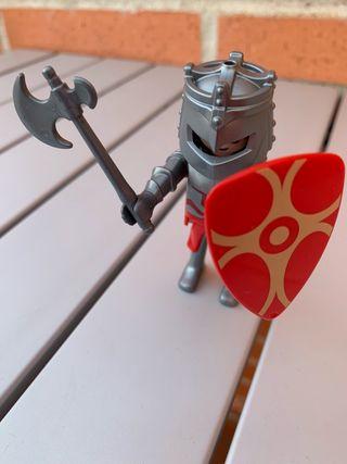 Playmobil caballero rojo