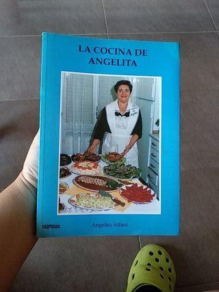 """libro de recetas """"la cocina de Angelita"""""""