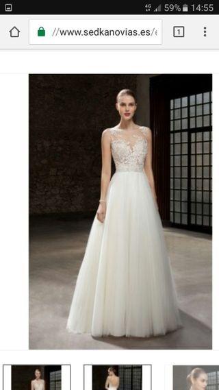 vestido de novia de segunda mano en elche en wallapop