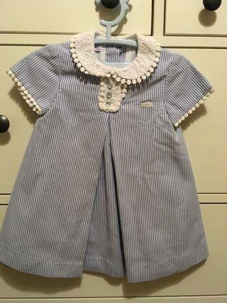 Vestido Niña FOQUE. 12 meses