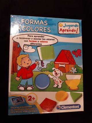Juego formas y colores de Clementoni