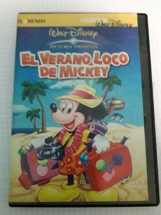 PELICULA DISNEY; EL VERANO LOCO DE MICKEY