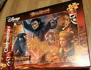 puzzle Piratea Caribbean ar World's End de Clemen