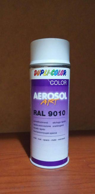 Aerosol ART Dupli Color Blanco 9010 Opaco Mate 400