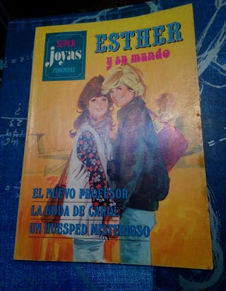 cómic antiguo esther y su mundo