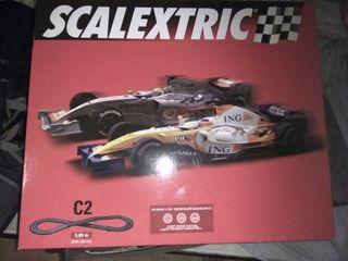 Circuito Scalextric C2 F1
