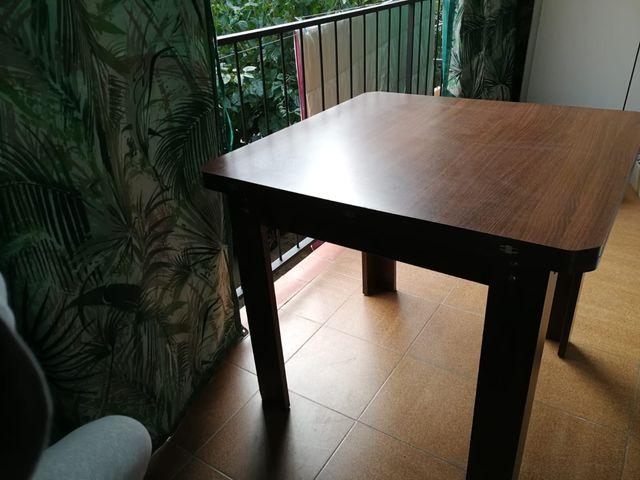 Mesa comedor abatible de segunda mano por 105 € en Mataró en WALLAPOP