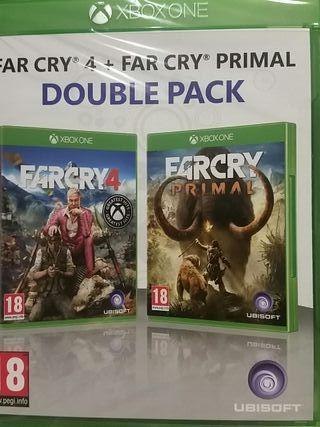 FAR CRY 4 + FAR CRY PRIMAL XBOX (XONE)