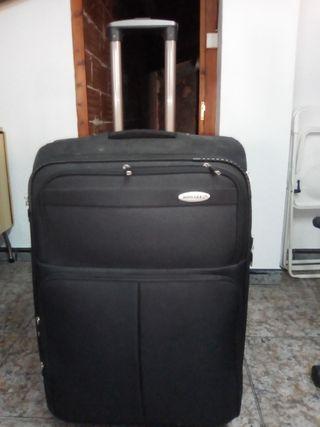 Maleta bossages 75x45 cm negra con 4 ruedas