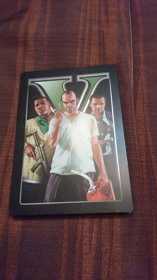GTA 5 ps3 steelbook edition