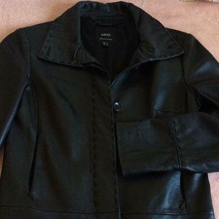 Abrigo chaquetón de piel