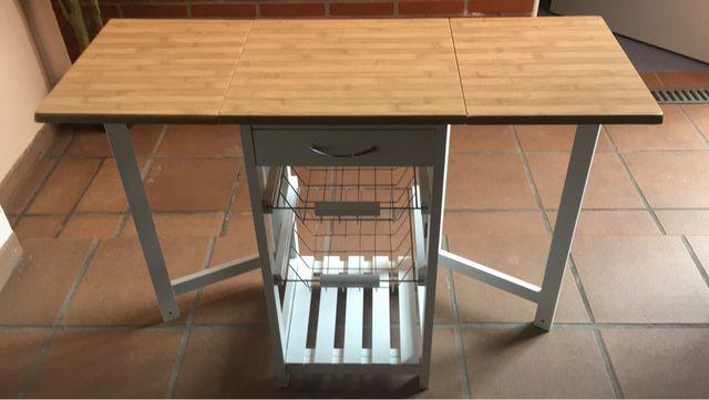 Mesa accesoria plegable cocina con verdulero de segunda mano por 60 ...