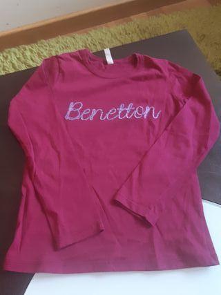 Benetton color vino, talla 4-5 años