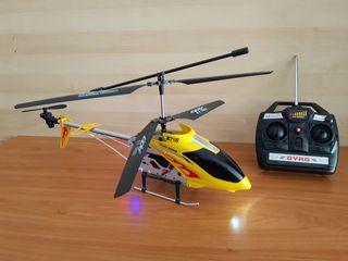 helicóptero radio control 58 cm 3.5 canales girosc
