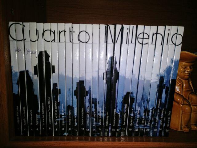 Colección Cuarto Milenio libros dvd de segunda mano por 50 € en ...