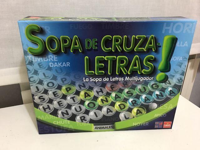Juego De Mesa Sopa De Cruzaletras De Segunda Mano Por 12 En Madrid