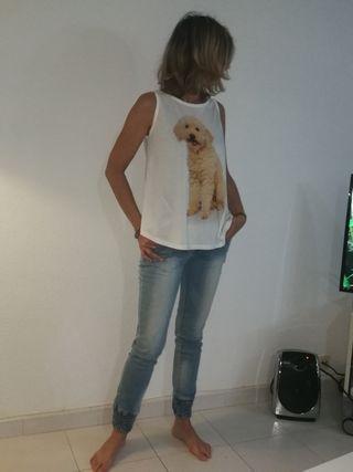 Ropa de Mujer. Camiseta Perro!