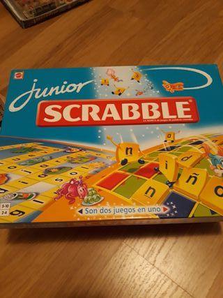 juego de mesa Mattel Scrabble Junior