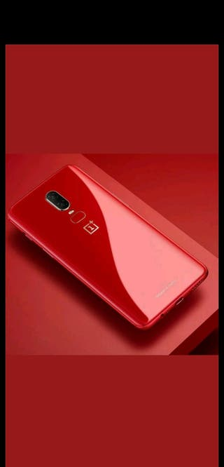 "OFERTA!! OnePlus 6 8GB 128GB ""Limited Edition Red"""