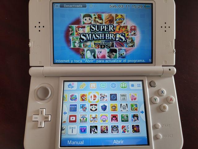 New Nintendo 3ds Xl 31 Juegos De Segunda Mano Por 120 En