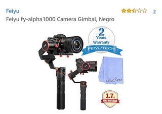 Estabilizador cámara feiyu fy-alpha 1000