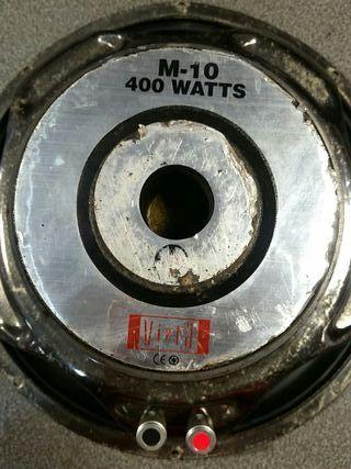 subbufer m10 400watts vieta