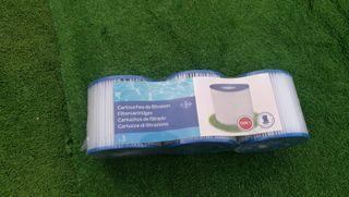 bomba filtro piscina + filtros