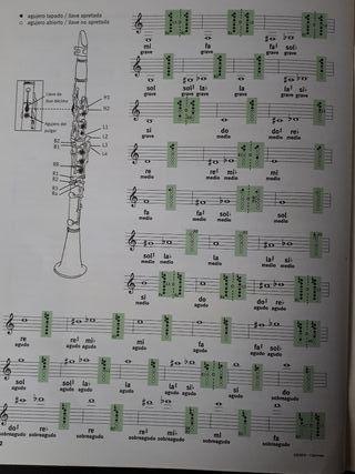libro para clarinete