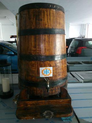 barril madera serpentin