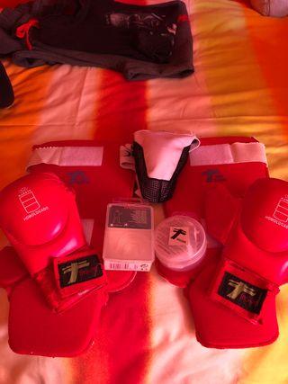 Equipo de protección para kempo, karate, judo