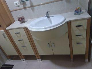 Mueble lavabo completo.