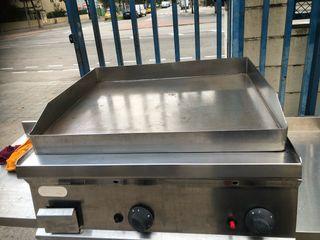 Plancha fry top alto rendimiento cromo