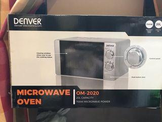 Microondas con grill nuevo