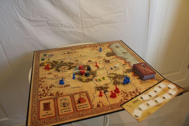 Risk Las Cronicas De Narnia Juego De Mesa De Segunda Mano Por 20