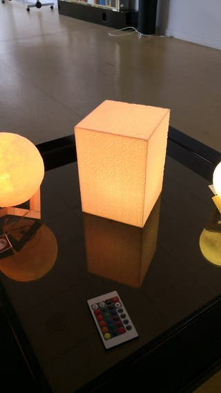 Lámpara decorativa de ambiente LED