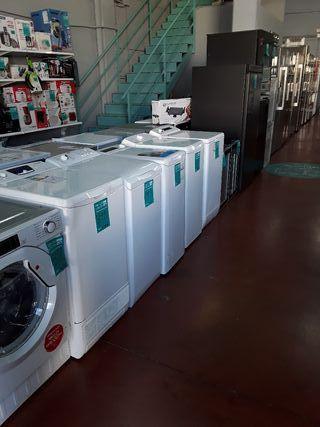 Lavadoras carga superior con taras estéticas.