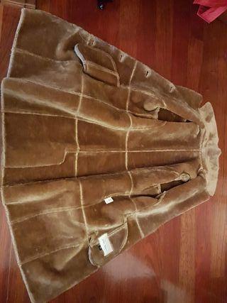 Abrigo, pelliza de piel