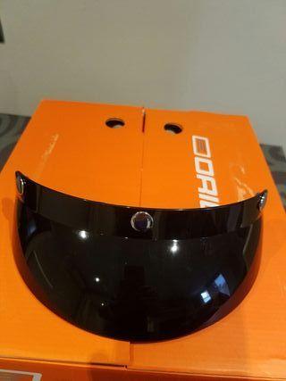casco moto custom retro