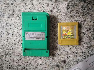 Game Boy Pocket + Pokemon Oro
