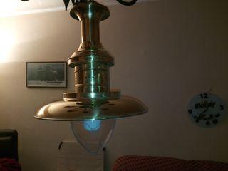 lampara de barco grande