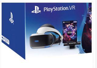 PlayStations VR+Gran Turismo Sport+PS World VR
