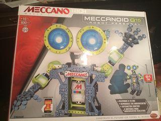 ROBOT PERSONAL MECCANO MECCANOID G15