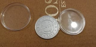 sello/moneda en plata de ley