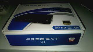 aparato alta definicion para ver tv satelite