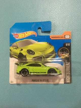 Hot wheels , Porsche 911 gt3 RS , batmobile y Rig