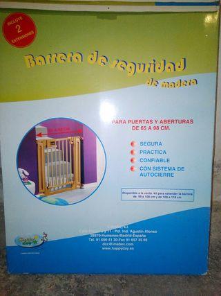 Barrera de seguridad para bebes