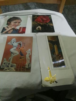 Postales holografias vintage